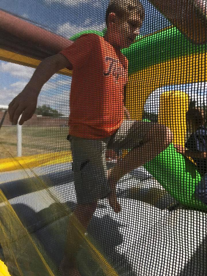 Bounce House with Logan