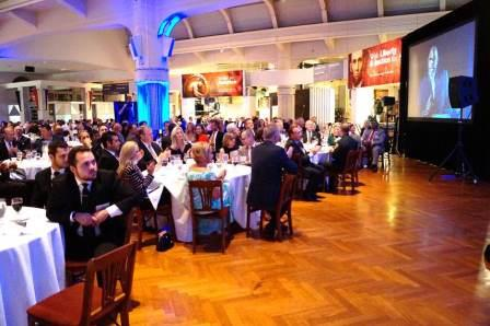 Recognition Dinner 2017 - Crowd at tables