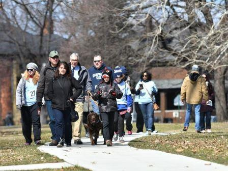Victims Awareness Walk - Photo 10 - People walking