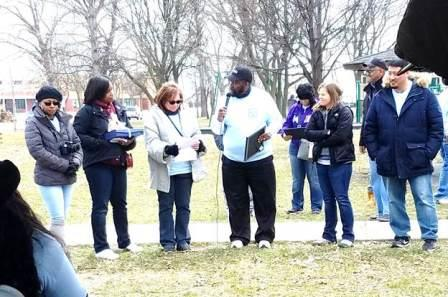 Victims Awareness Walk - Photo 6 - Bishop James Williams Speaking