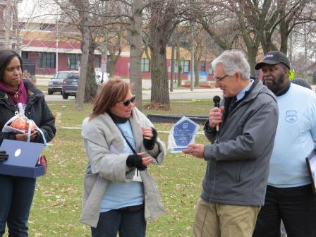 Victims Awareness Walk - Photo 9 - Award Being Presented